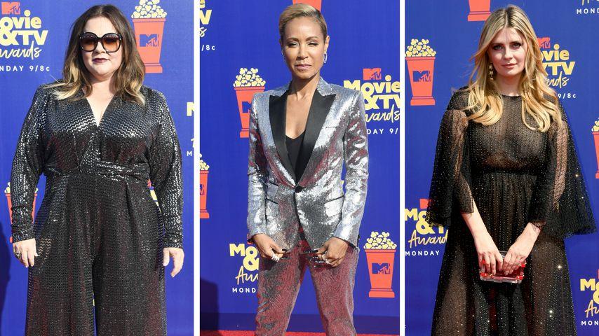 Ganz viel Glitzer: Die besten Looks der MTV Movie Awards!