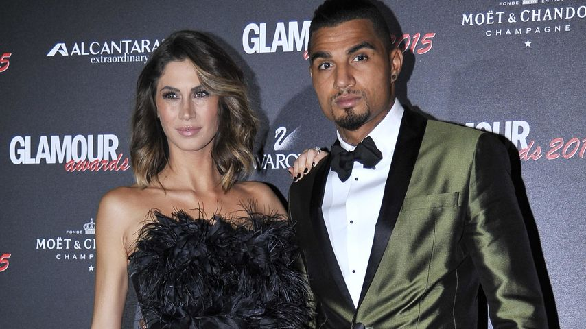 "Melissa Satta und Kevin-Prince Boateng bei den ""2015 Milan Glamour Awards"""