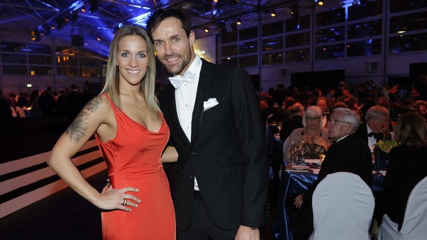 Melissa Thiem und Sven Hannawald bei der German Sports Gala 2016