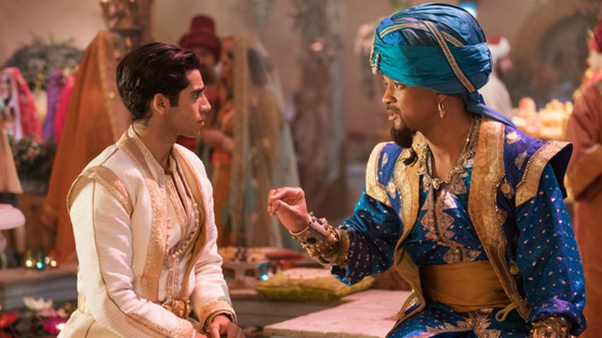 "Mena Massoud und Will Smith im Film ""Aladdin"