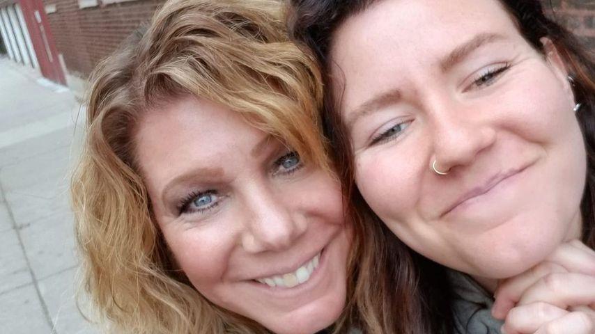 Meri Brown mit Tochter Mariah