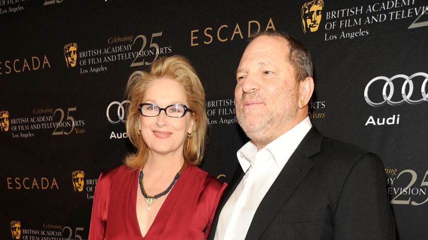 Meryl Streep und Harvey Weinstein bei der Awards Season Tea Party in Los Angeles