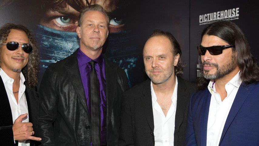 """Metallica: """"Zusammenhalt ist das Wichtigste"""""""