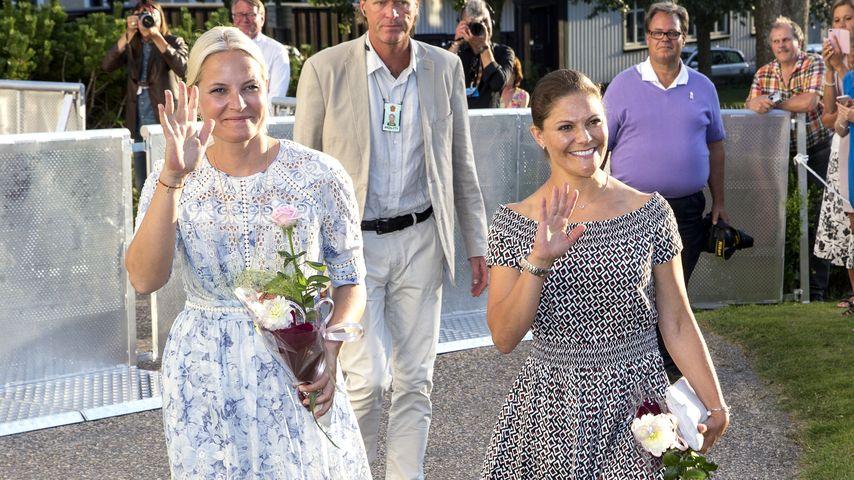 Prinzessin Victoria von Schweden und Mette-Marit