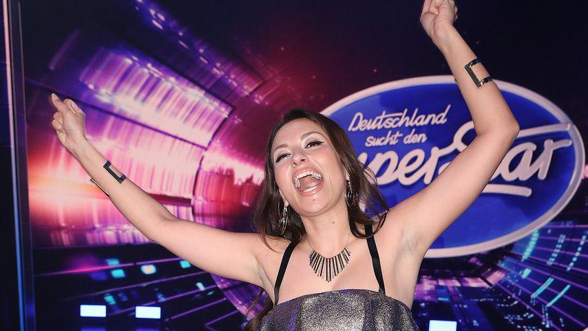 Mia Gucek in der 1. Liveshow von DSDS