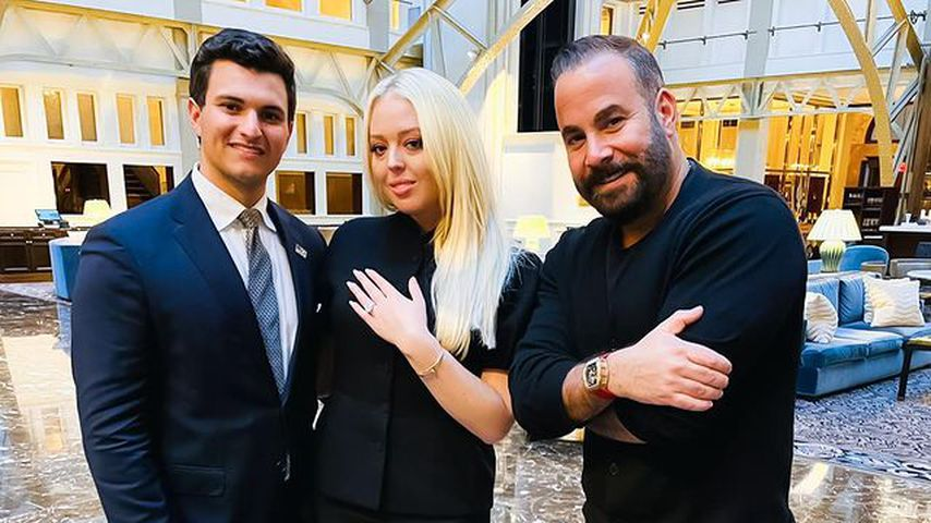 Michael Boulos, Tiffany Trump und Samer Halimeh