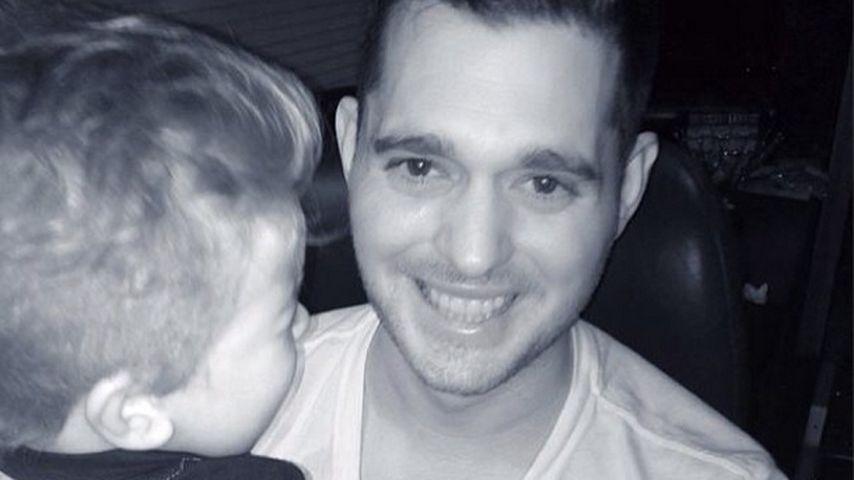 Michael Bublés Sohn wegen Verbrennung im Krankenhaus