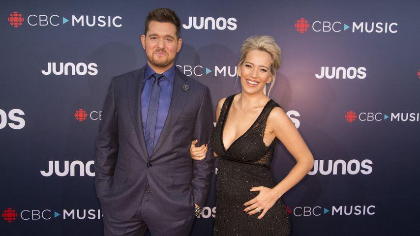 Michael Bublé und seine Frau Luisana Lopilato