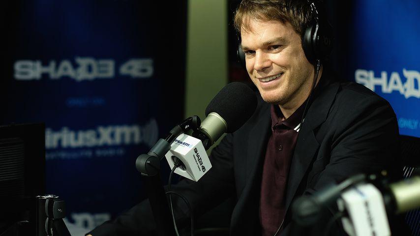 Michael C. Hall beim Radiosender SiriusXM in New York City, 2018
