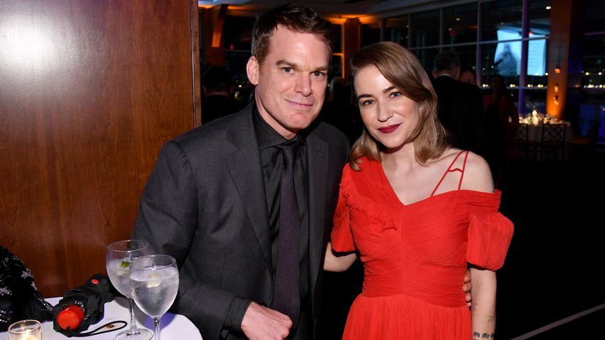 Michael C. Hall und Morgan Macgregor bei der Farm Santuary on the Hudson Gala im Oktober 2018