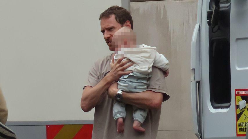 Ist dieses Baby von Michael Fassbender und Alicia Vikander?