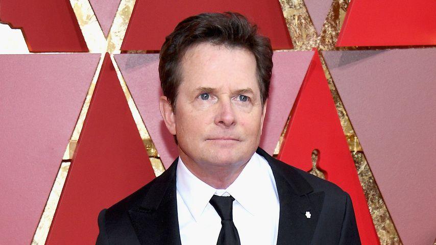 Michael J. Fox bei der 89. Oscar-Verleihung in Hollywood