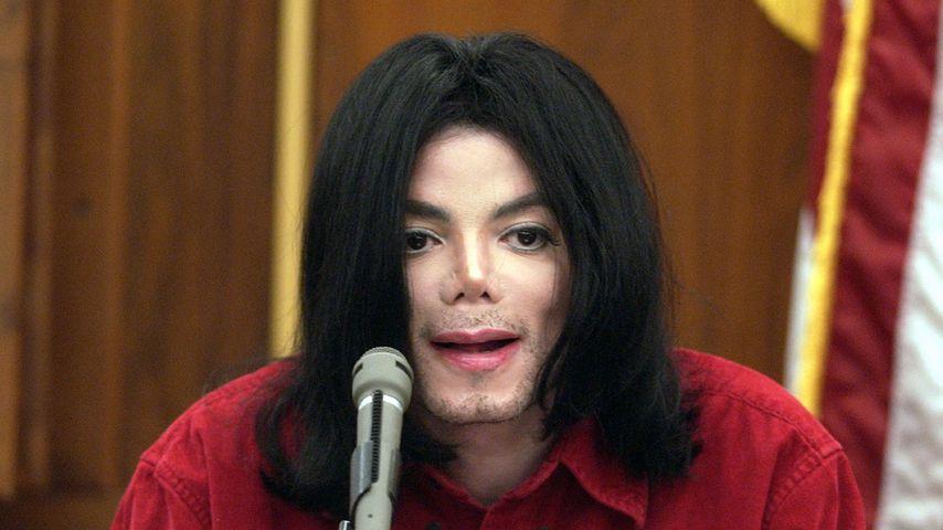Michael Jackson im November 2002