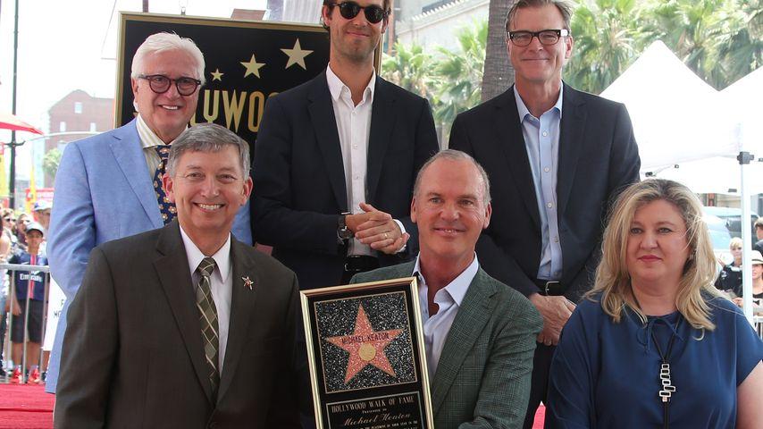 """Michael Keaton wird mit einem Stern auf dem """"Walk of Fame"""" geehrt"""