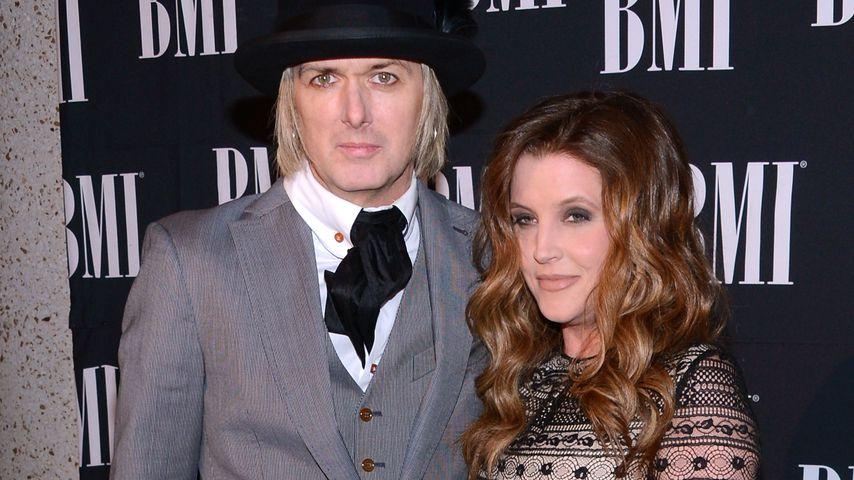 Michael Lockwood und Lisa Marie Presley bei den BMI Country Awards 2012