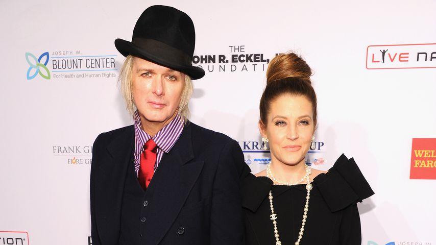 Michael Lockwood und Lisa Marie Presley in New York, 2013