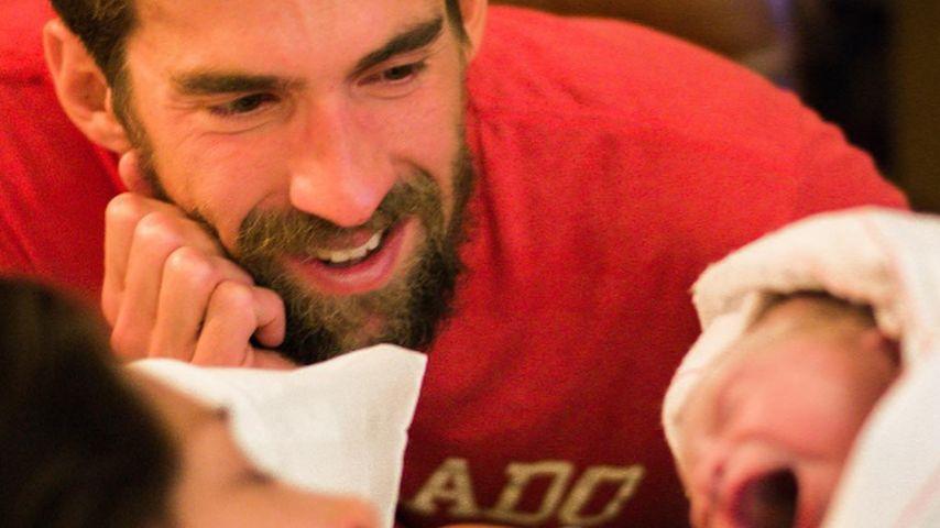 Er platzt vor Stolz! Michael Phelps schwärmt von seinem Sohn