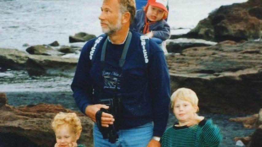 Michael Schulte mit seiner Familie