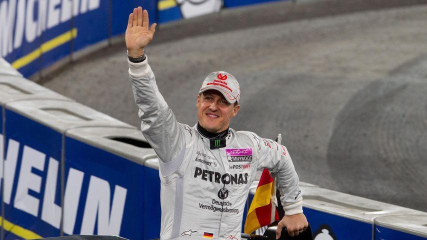 Michael Schumacher: Endlich wieder auf dem Podium