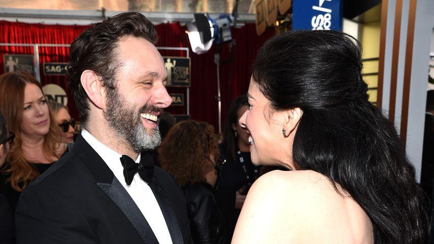 Michael Sheen und Sarah Silverman bei den Screen Actors Guild Awards
