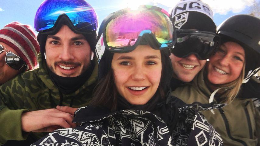 "Nina Dobrev: Coole Mini-""Vampire Diaries""-Reunion im Schnee!"