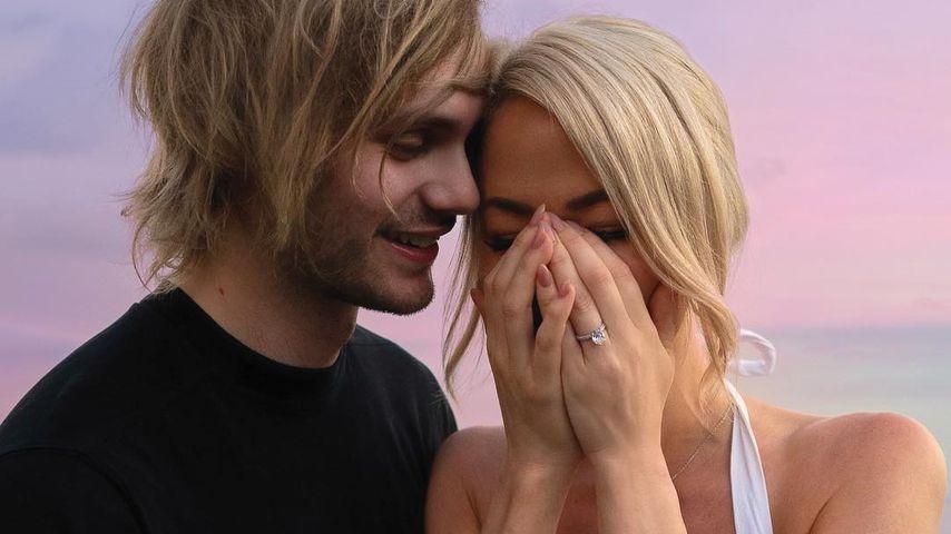 Süße Antrags-Pics: 5 Seconds of Summer-Michael ist verlobt!