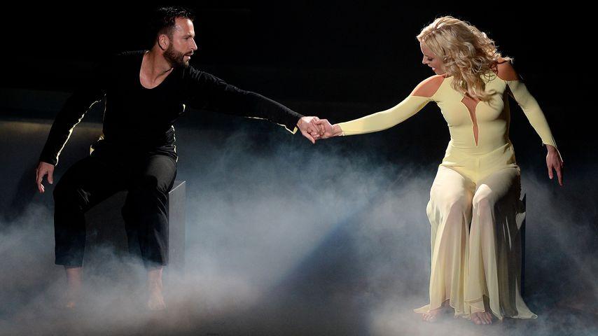 "Michael Wendler und Isabel Edvardsson bei ""Let's Dance"" 2016"