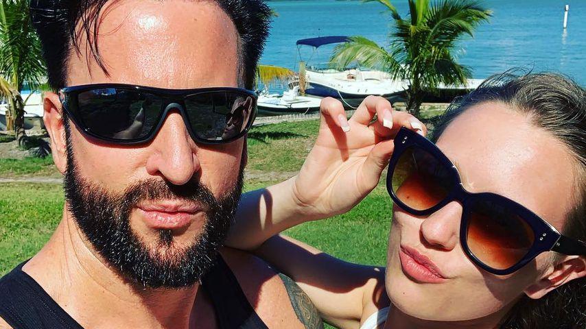 Michael Wendler und Laura M. in Florida