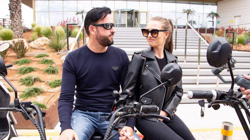 Michael Wendler und Laura Müller auf Mallorca, 2019