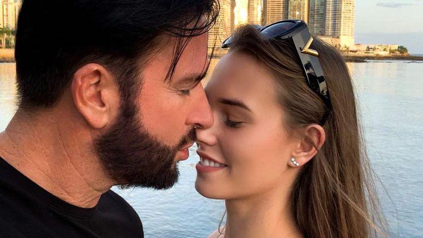 Michael Wendler und Laura Müller im Januar 2020