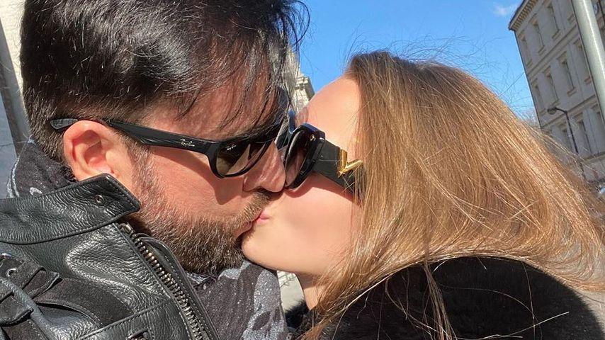 Michael Wendler und Laura Müller im März 2020