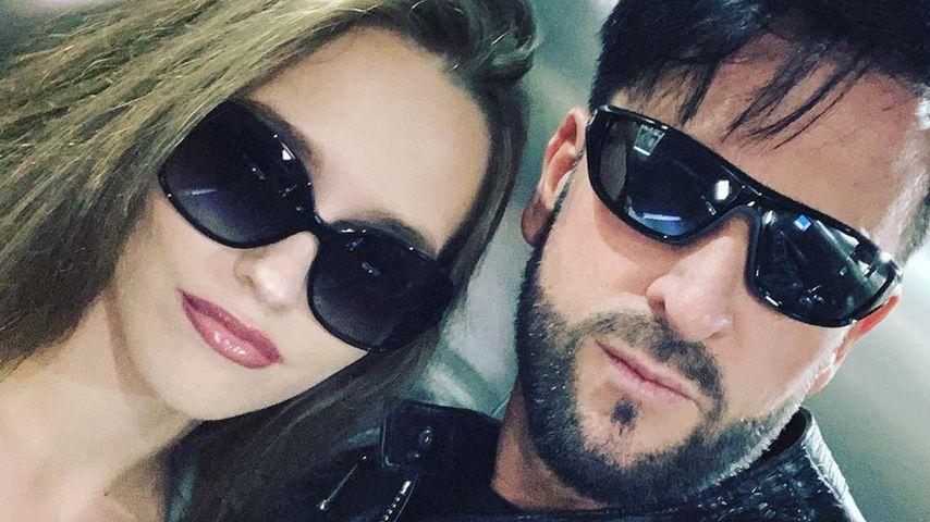 Laura Müller und Michael Wendler im Juni 2019