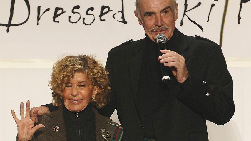 Micheline Roquebrune und Sean Connery, 2006