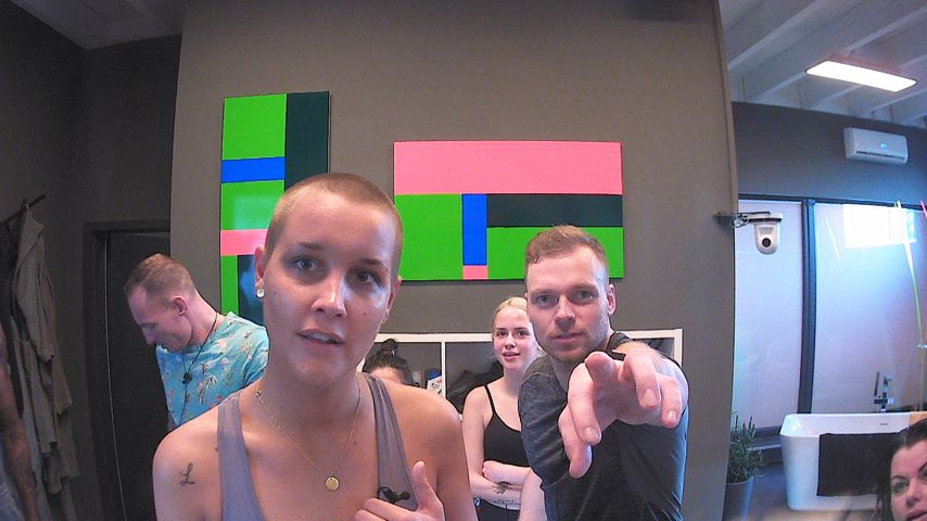 "Michelle, Gina und Philipp im ""Big Brother""-Glashaus"