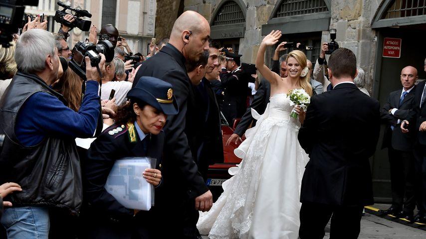 Deshalb war Michelle Hunzikers Hochzeit öffentlich