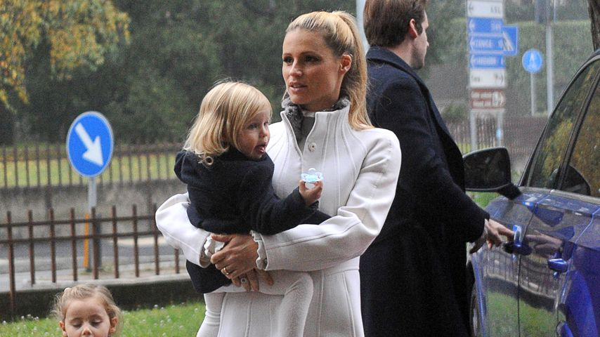 Trotz Kindern! Michelle Hunzikers relaxter Paparazzi-Umgang