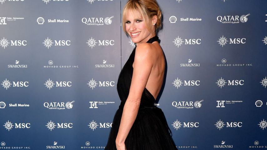 Michelle Hunziker im November 2019