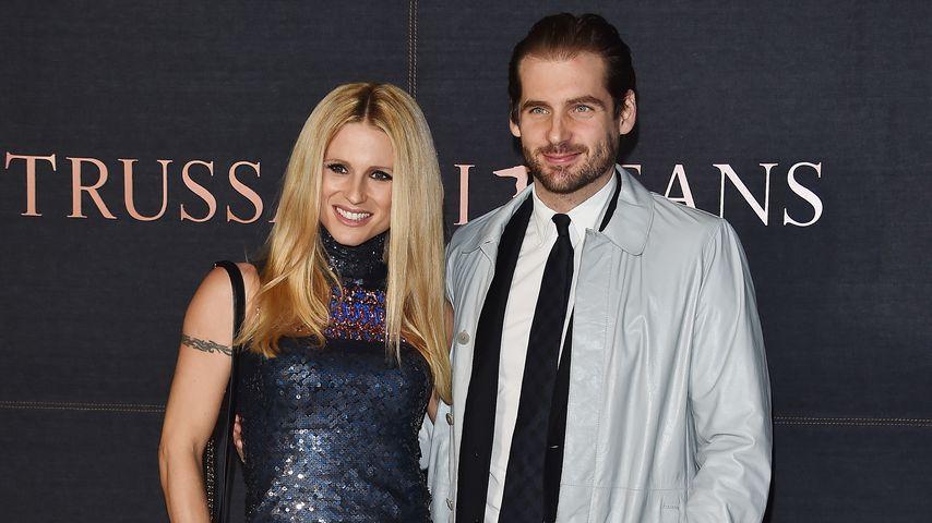 Michelle Hunziker und Tomaso Trussardi, 2015
