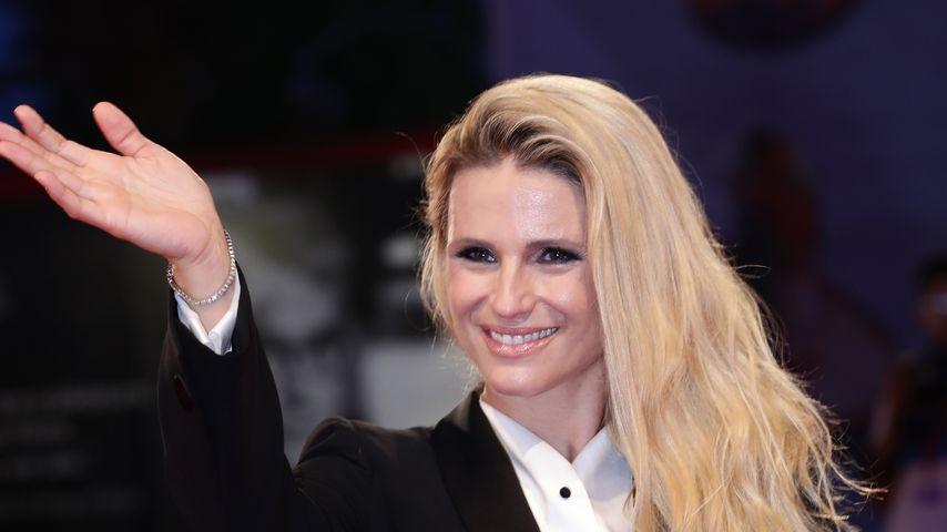 Michelle Hunziker bei den Filmfestspielen in Venedig im September 2019