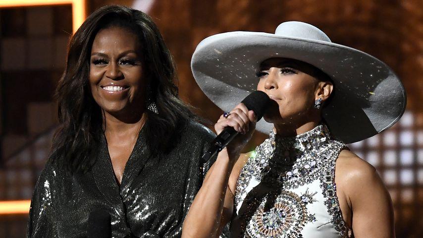 Michelle Obama und Jennifer Lopez