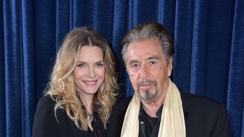 Michelle Pfeiffer und Al Pacino, April 2018 in New York City