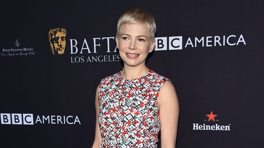 Golden Globe-Preisträgerin Michelle Williams, 2018