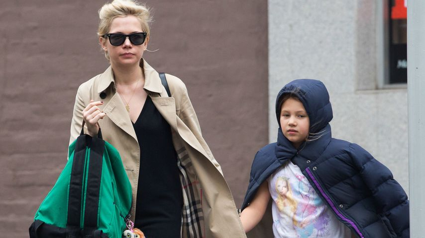 Michelle Williams und Matilda Ledger