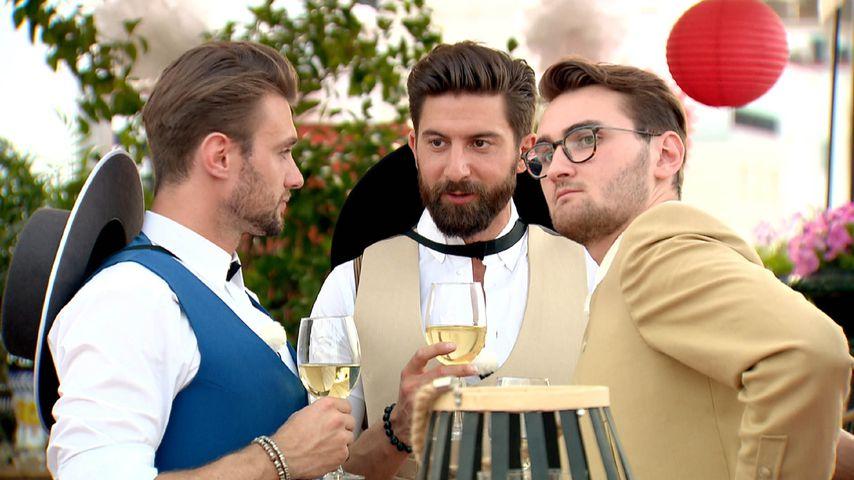 Michi, Sebastian und Lukasz, Bachelorette-Kandidaten
