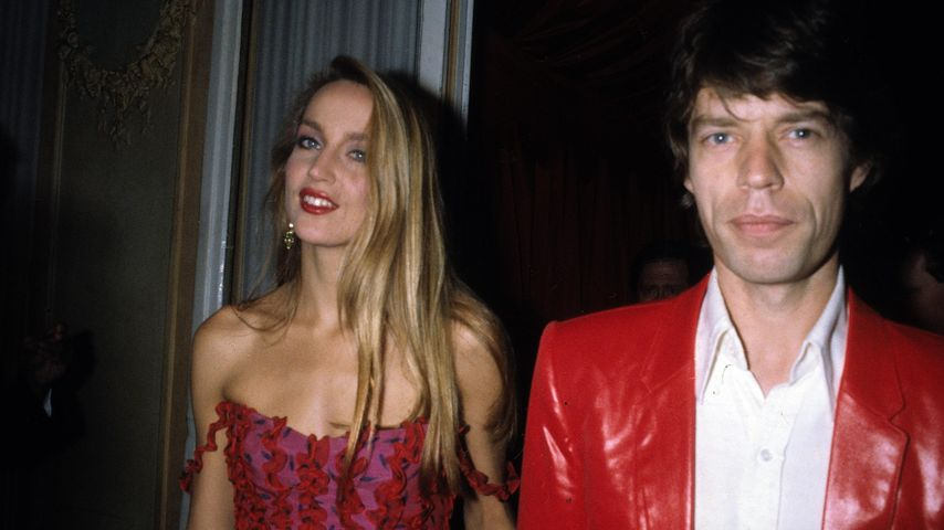 Jerry Hall und Mick Jagger