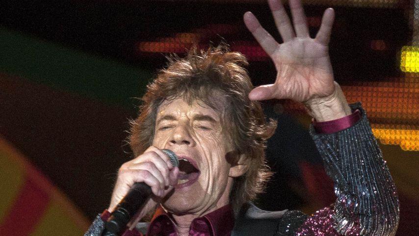 Mick Jagger bei einem Konzert in Havana