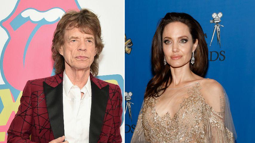 Ließ Mick Jagger für One-Night-Stand Angelina Jolie sitzen?