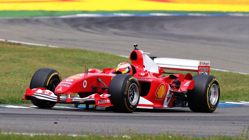 Mick Schumacher auf dem Hockenheimring im Juli 2019