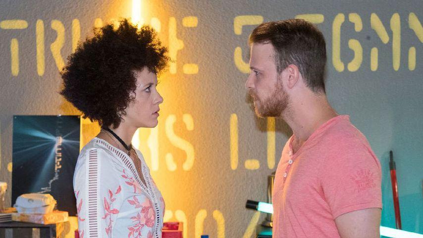 """Joy und Patrick Müller als Micki und Tobias bei """"Unter uns"""""""