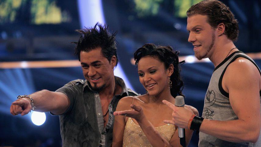Mike Leon Grosch, Vanessa Jean Dedmon und Tobias Regner im März 2006